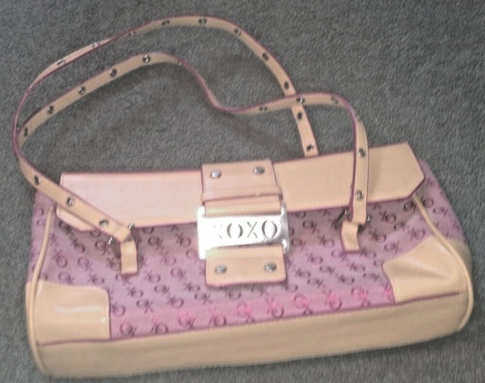 NWOT XOXO Pink Magenta Baguette Shoulder Handbag Purse