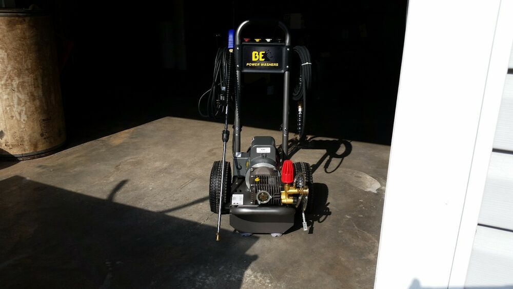 Be Electric Pressure Washer 2hp Baldor Motor Amp Comet Pump
