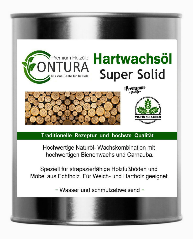 natur holzschutz hartwachs l holz l parkett fussboden m bel l wachs holzwachs ebay. Black Bedroom Furniture Sets. Home Design Ideas