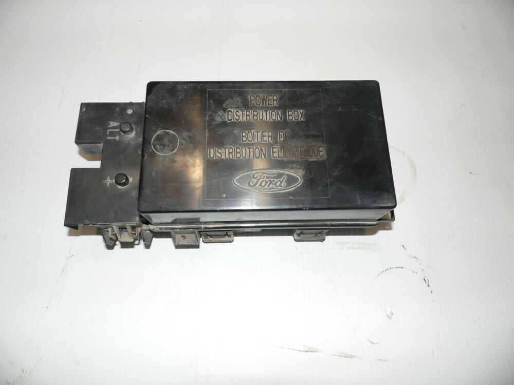oem 2001 ford e150 econoline under hood primary fuse relay