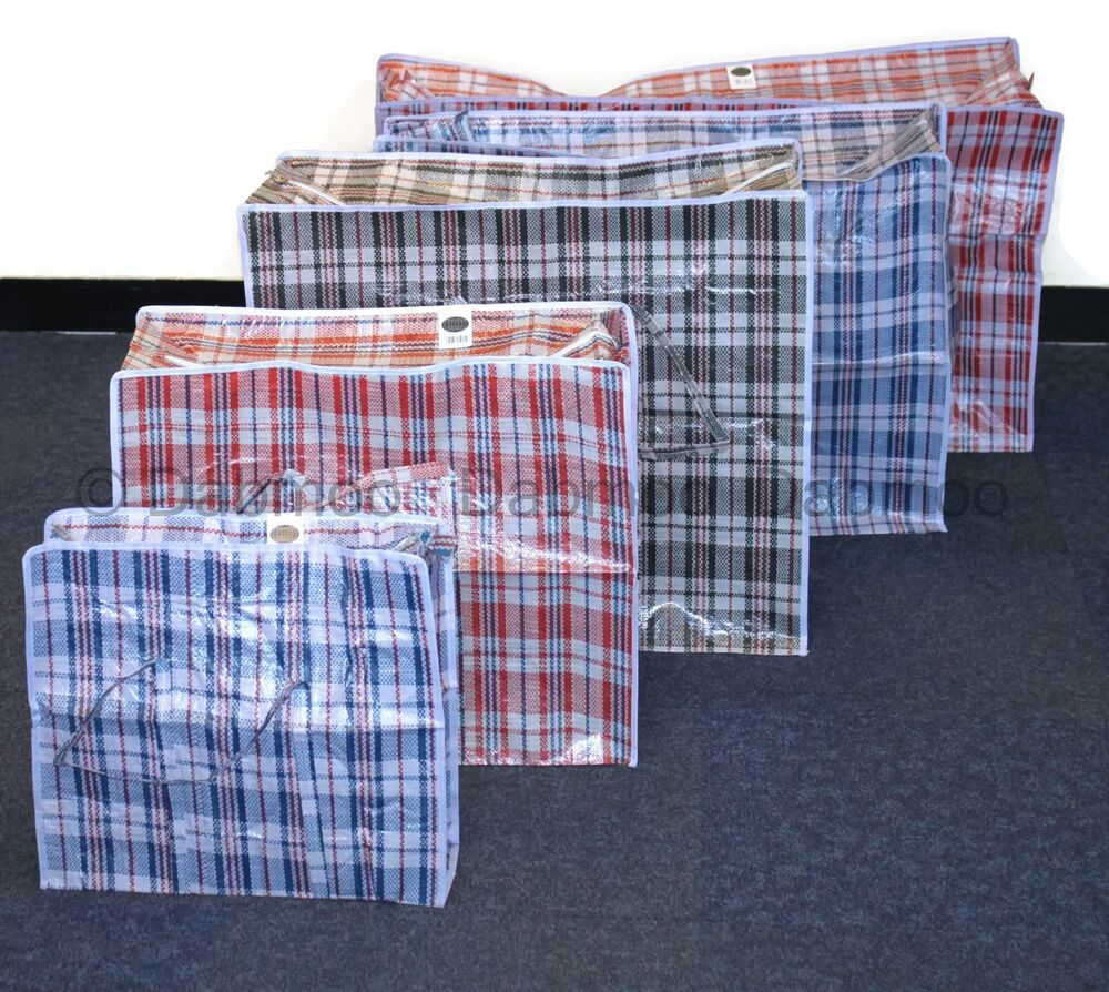 strong quality storage laundry zipped bag recycled