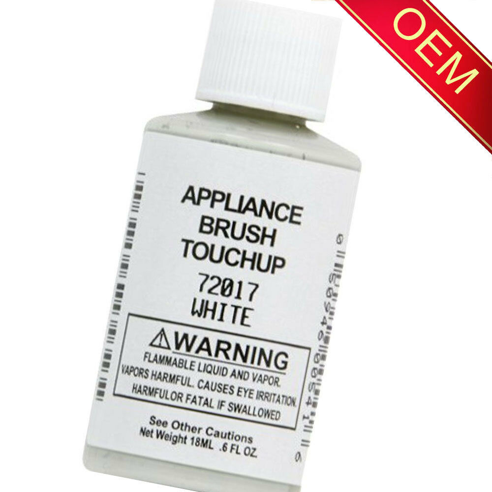 72017 White Appliance Touchup Paint For Whirlpool Kenmore