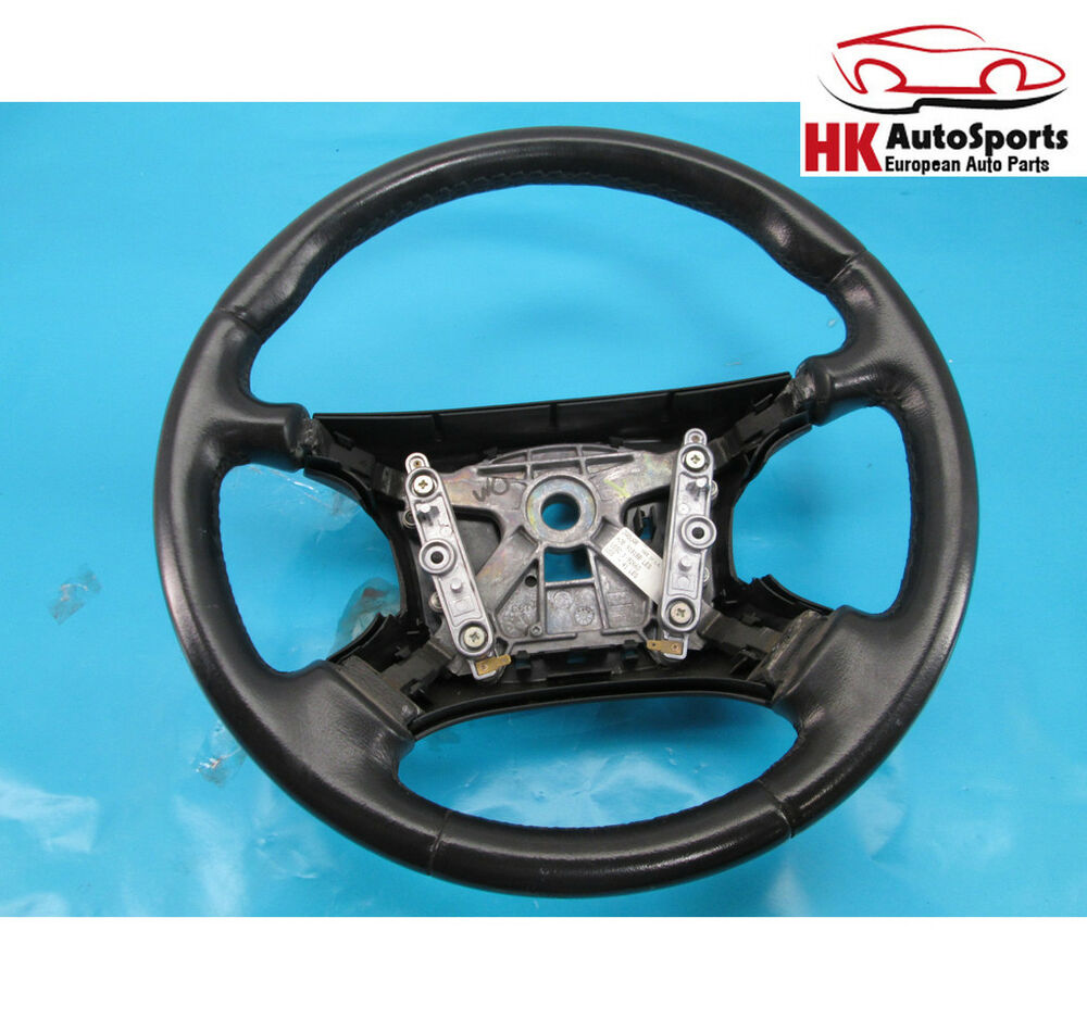 Jaguar Vanden Plas Xj8 Steering Wheel Black Hjb9181bb