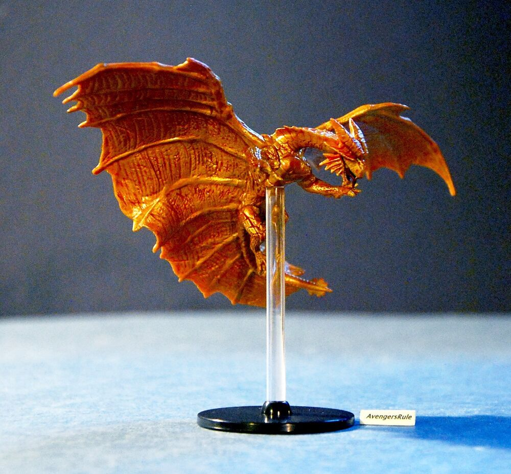 Dnd Copper Dragon: D&D Icons Of The Realm Tyranny Of Dragons 32/45 Copper