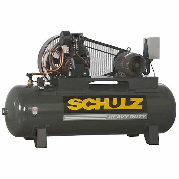 Schulz L Series 10120hl40x 3 10 Hp 120 Gallon Two Stage