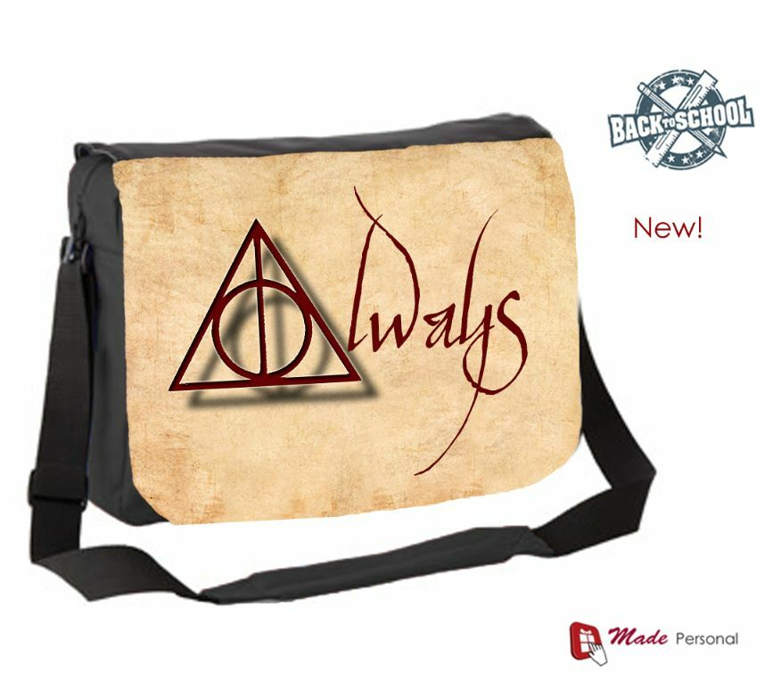 Waterproof Messenger Bag >> HARRY POTTER INSPIRED- ALWAYS MESSENGER BAG - NEW! ideal for school | eBay