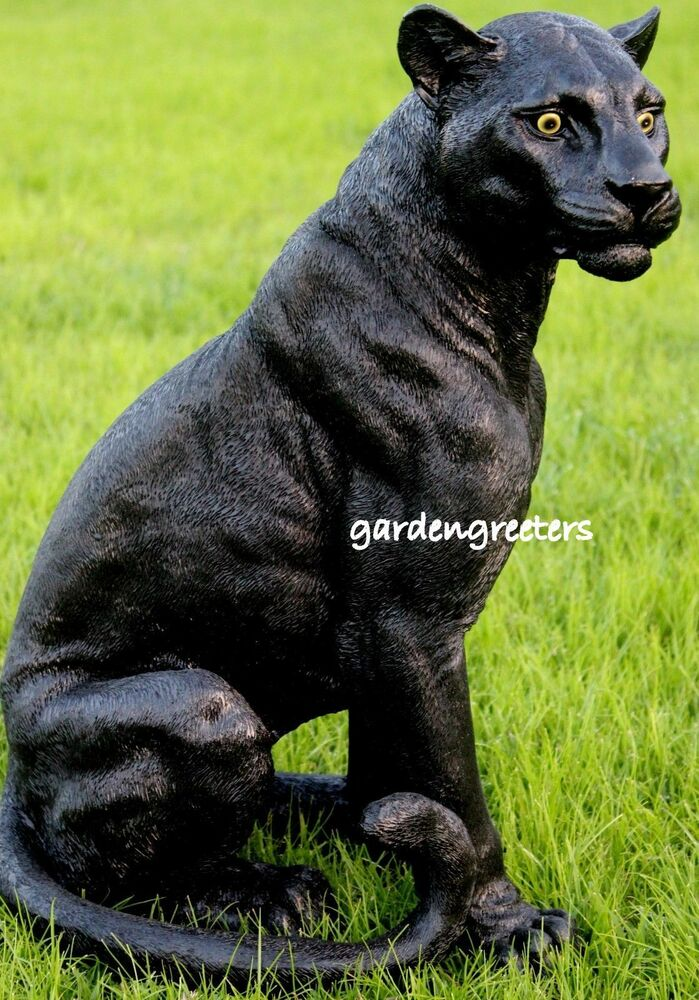 Black Cat Lawn Ornament