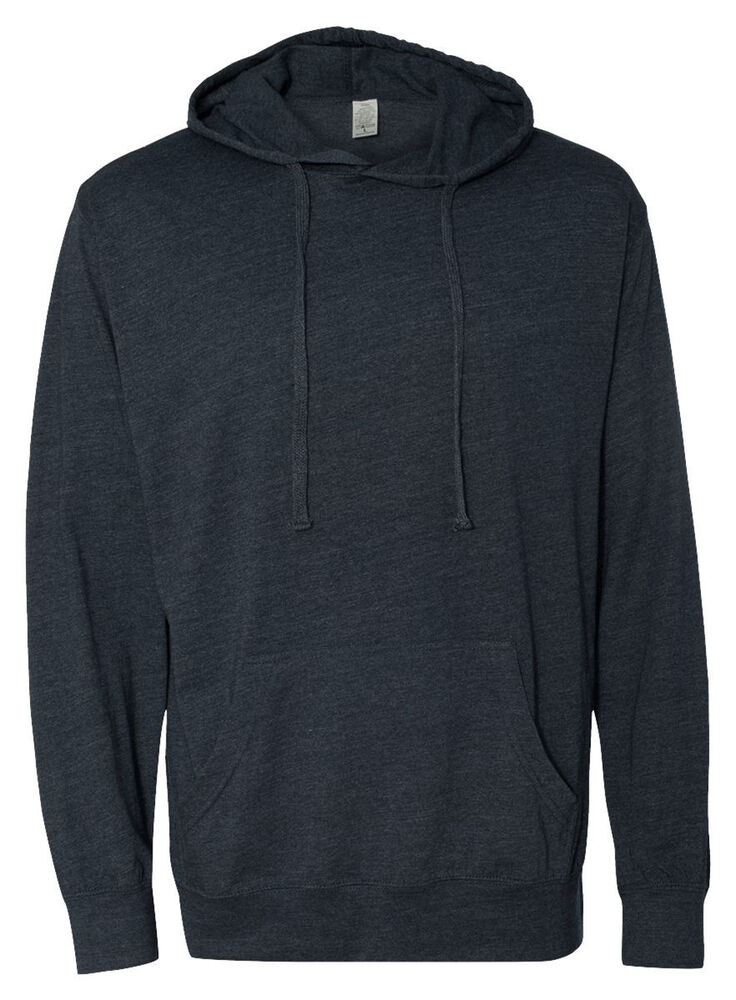 Independent trading co men 39 s lightweight hooded pullover t for Pull over shirts for mens