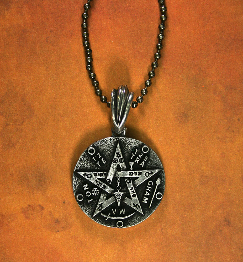 Double sided tetragrammaton necklace kabbalah tree of for What is the meaning of the tree of life jewelry