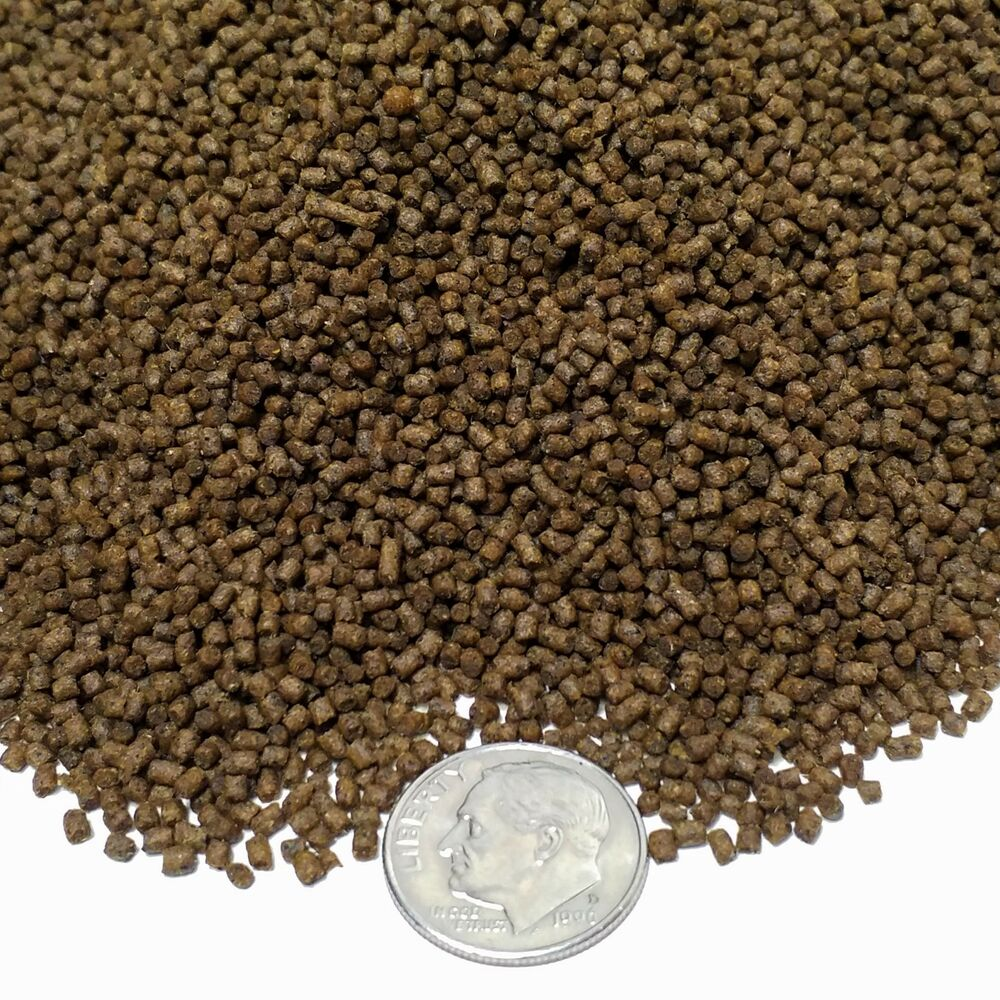 1 5mm Cichlid Floating Slow Slow Sinking Pellets Discus