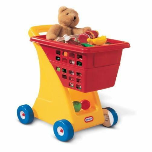 Used Toys For Toddlers : Toddler toy little tikes shopping cart yellow red kids