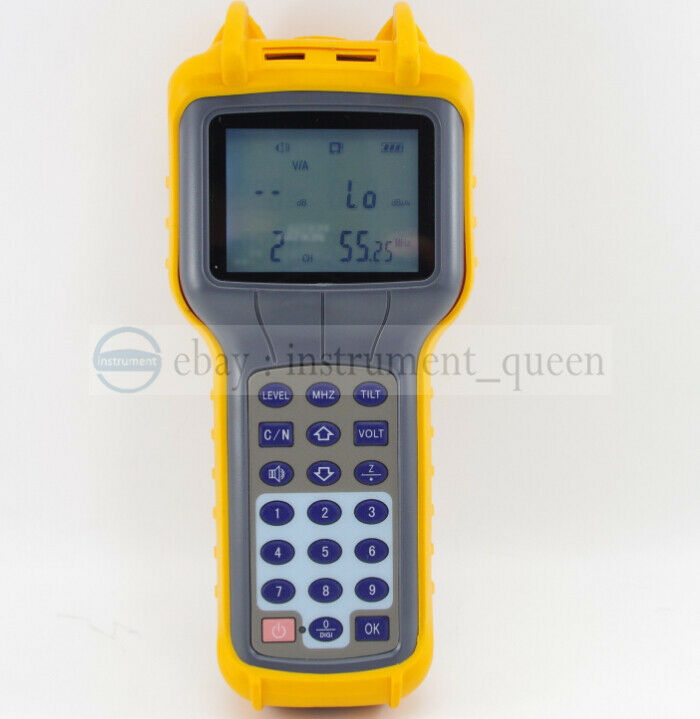 Cable Signal Meter : Mhz signal level meter ry s d catv cable tv db