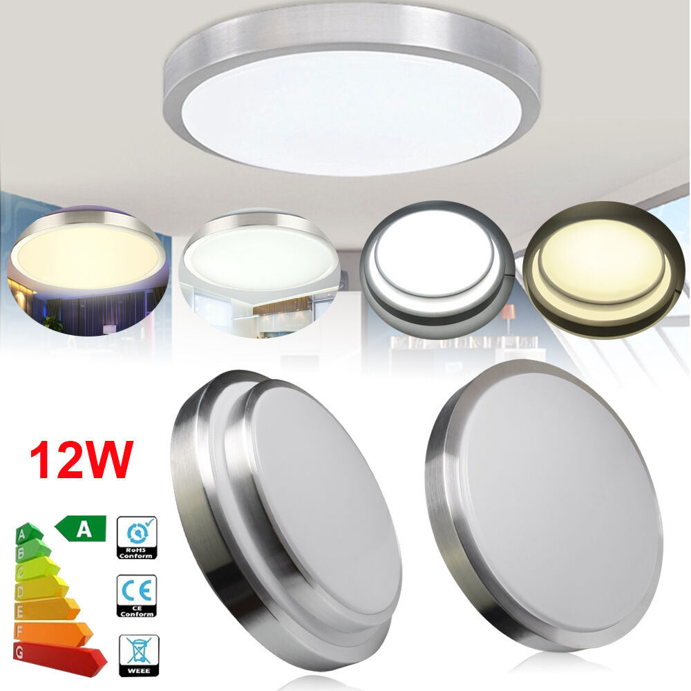 Details About Bright 36w Led Ceiling Down Light Flush Mount Kitchen Light Kit Included
