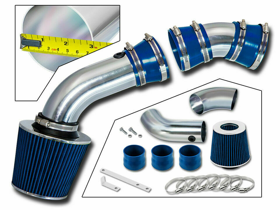 air intake kit dry filter for 96 99 gmc c k1500 sierra. Black Bedroom Furniture Sets. Home Design Ideas
