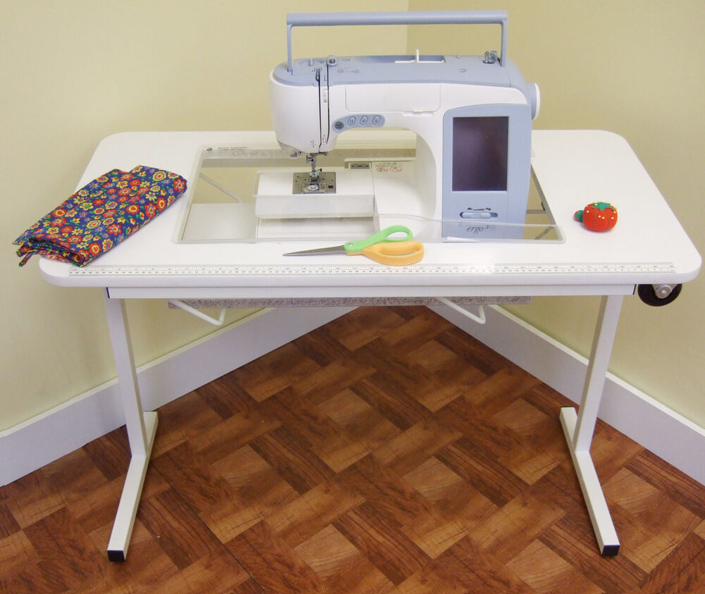 Janome Horizon 7700QCP - SEWING & QUILTING TABLE - NEW! | eBay