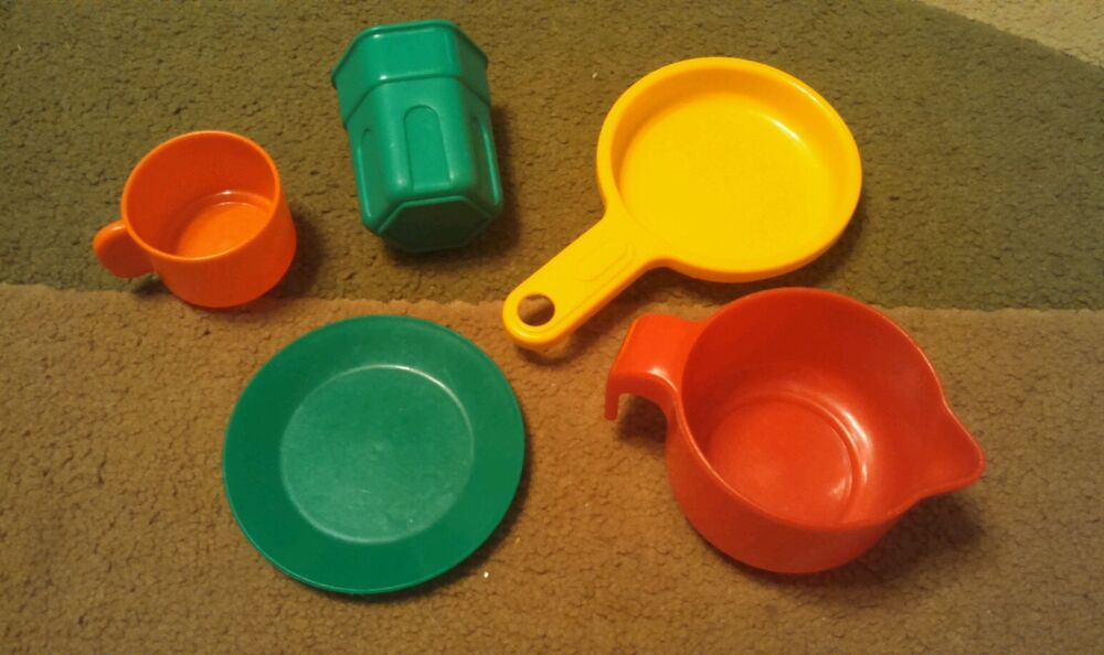 Toy Food And Dishes : Little tikes child pretend play dishes fry pan pitcher
