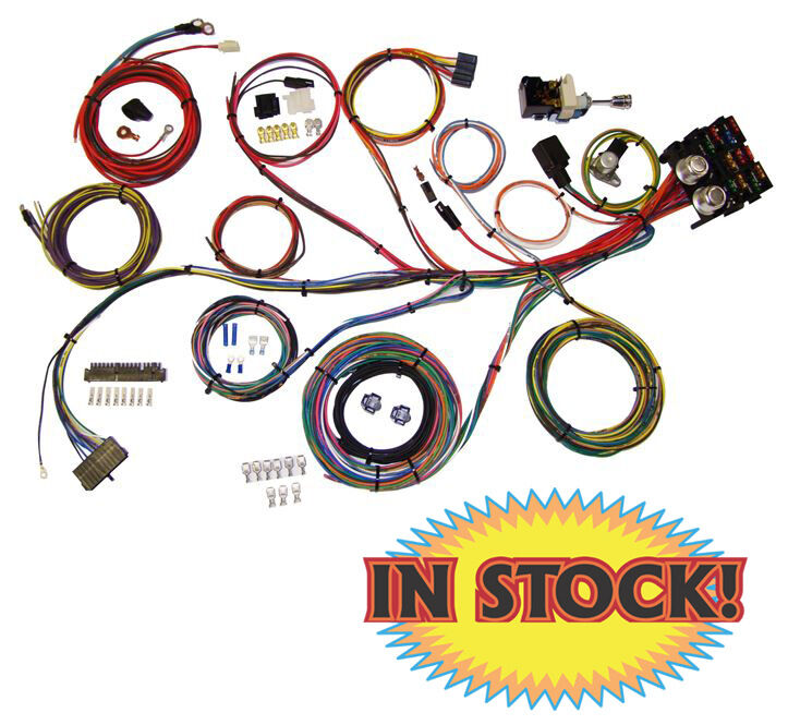 Power Plus 13 For Universal Wiring Harness American