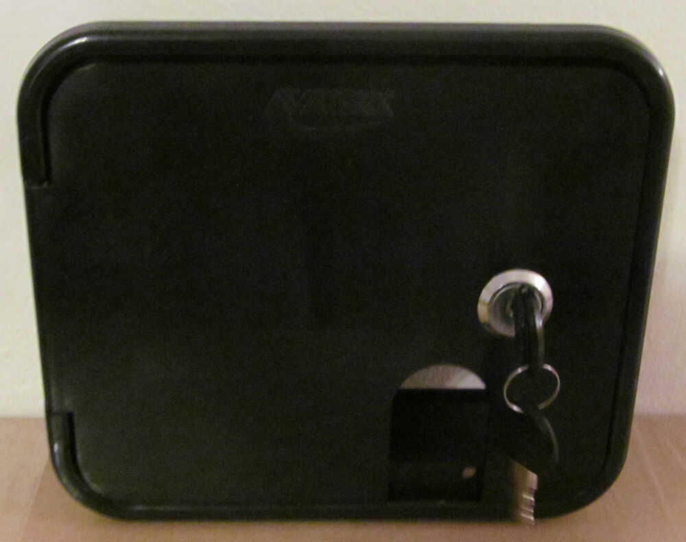 Rv Valterra Black Electric Power Cord Cable Hatch