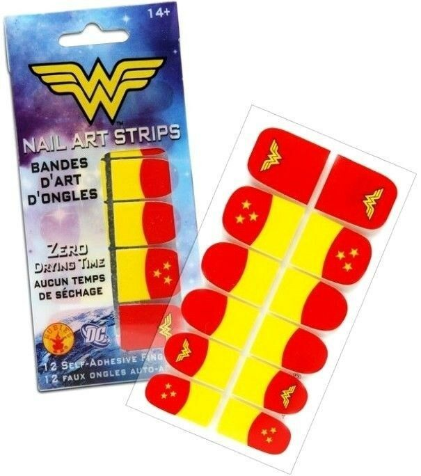 Nails Wonder Woman Can Nail Art Be Feminist: DC Comics Wonder Woman Nail Art Strips