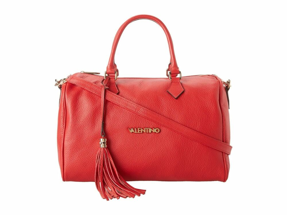 Valentino By Mario Valentino Foldover Clutch Bag In Red