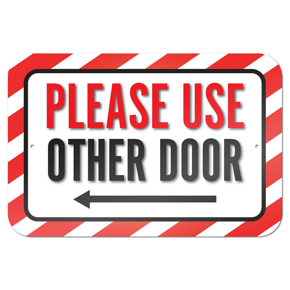 Soft image with regard to please use other door sign printable