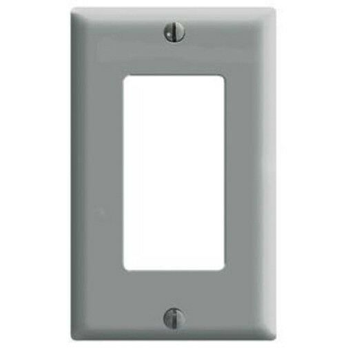 10 Pc New 1 Gang Decorator Wall Plate Cover Outlet