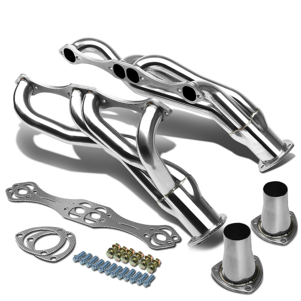 STAINLESS STEEL CLIPSTER HEADER MANIFOLD/EXHAUST FOR SBC