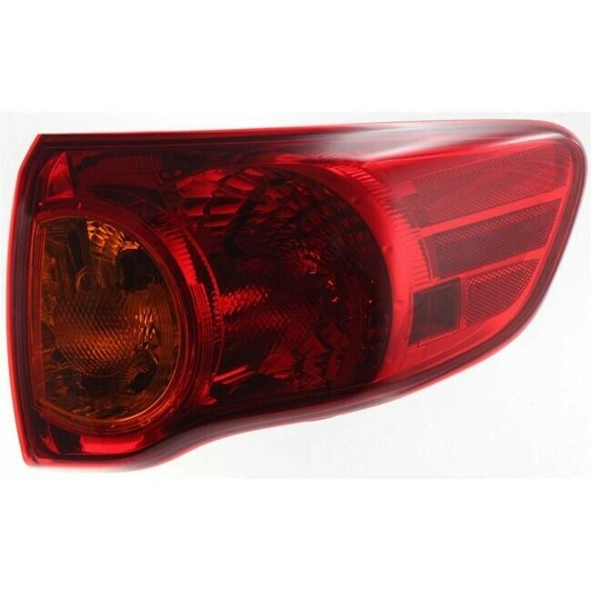 2001 Toyota Corolla Tail Lights: NEW 2009 2010 TO2801175 FITS TOYOTA COROLLA SEDAN REAR