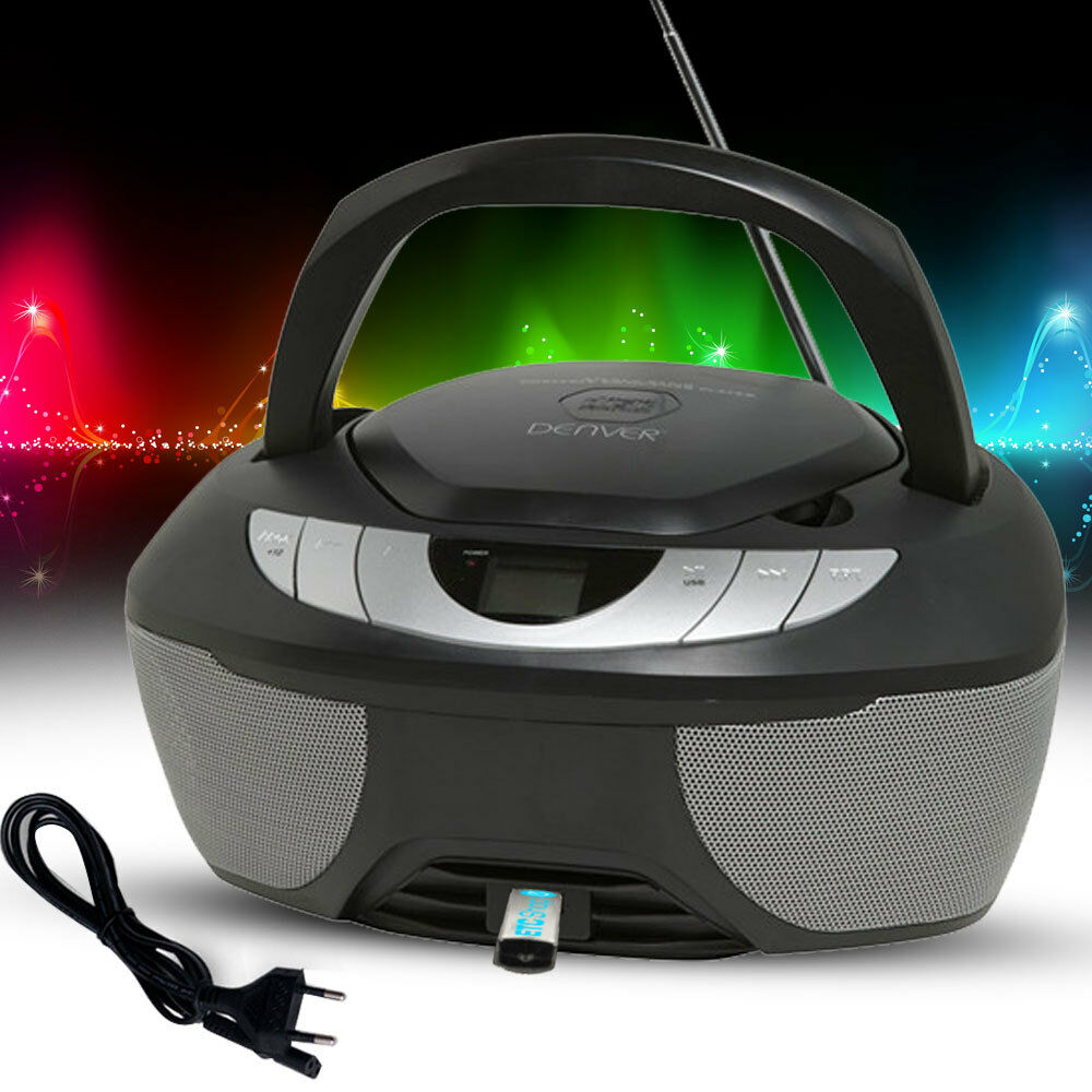 camping stereo anlage cd player radio tragbar usb. Black Bedroom Furniture Sets. Home Design Ideas