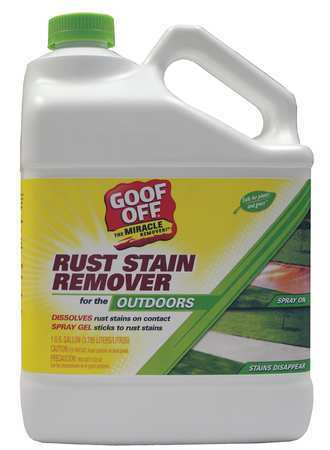 GOOF OFF GSX00101 Rust Remover, 1 gal., Bottle : eBay