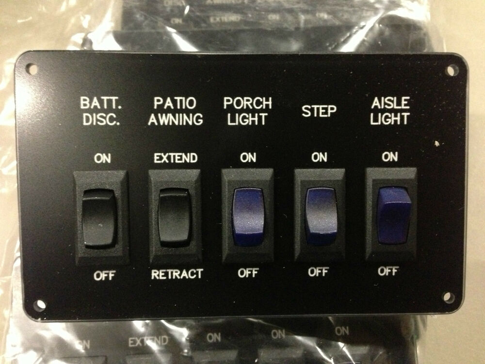 Battery Disconnect Patio Awning Porch Light Step Aisle