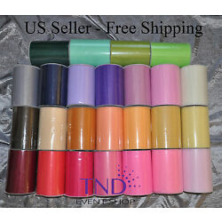 TULLE ROLL SPOOL 6 x100 YDS (300 FT) TUTU WEDDING BOW GIFT CRAFT DECORATION