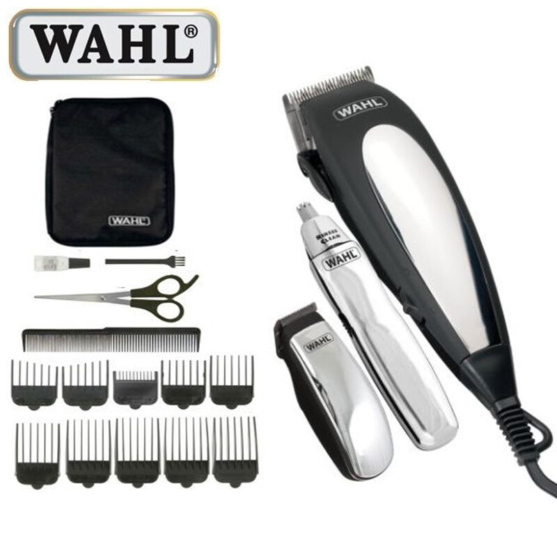 wahl complete mains hair clipper gift set beard trimmer haircutting machine kit ebay. Black Bedroom Furniture Sets. Home Design Ideas