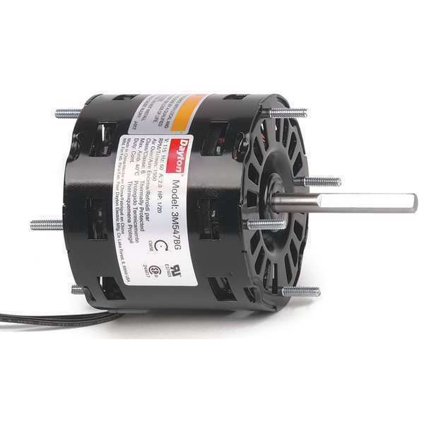 Dayton 3m547 hvac motor 1 20 hp 1550 rpm 115v 3 3 ebay for 1 20 hp electric motor