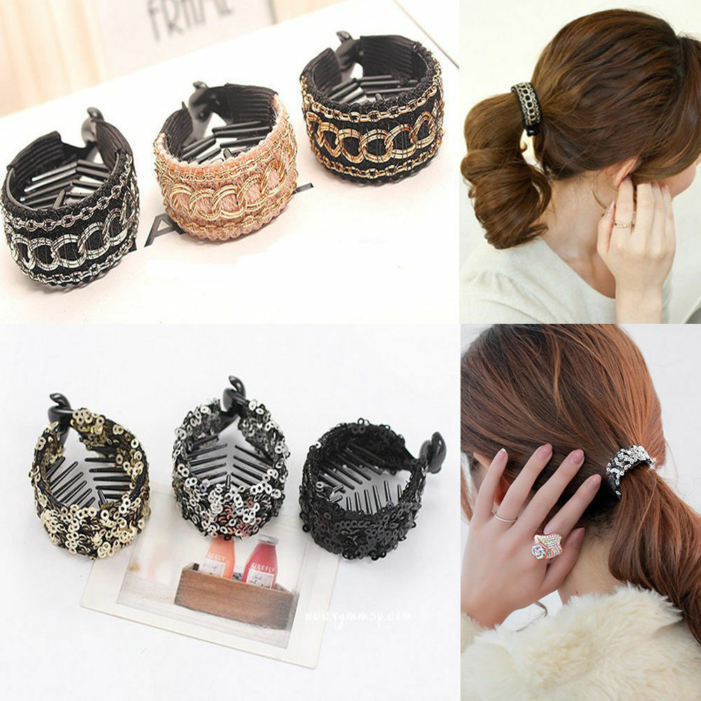 Fashion Korean Women Girl Jaw Claw Clips Ponytail Clip ...