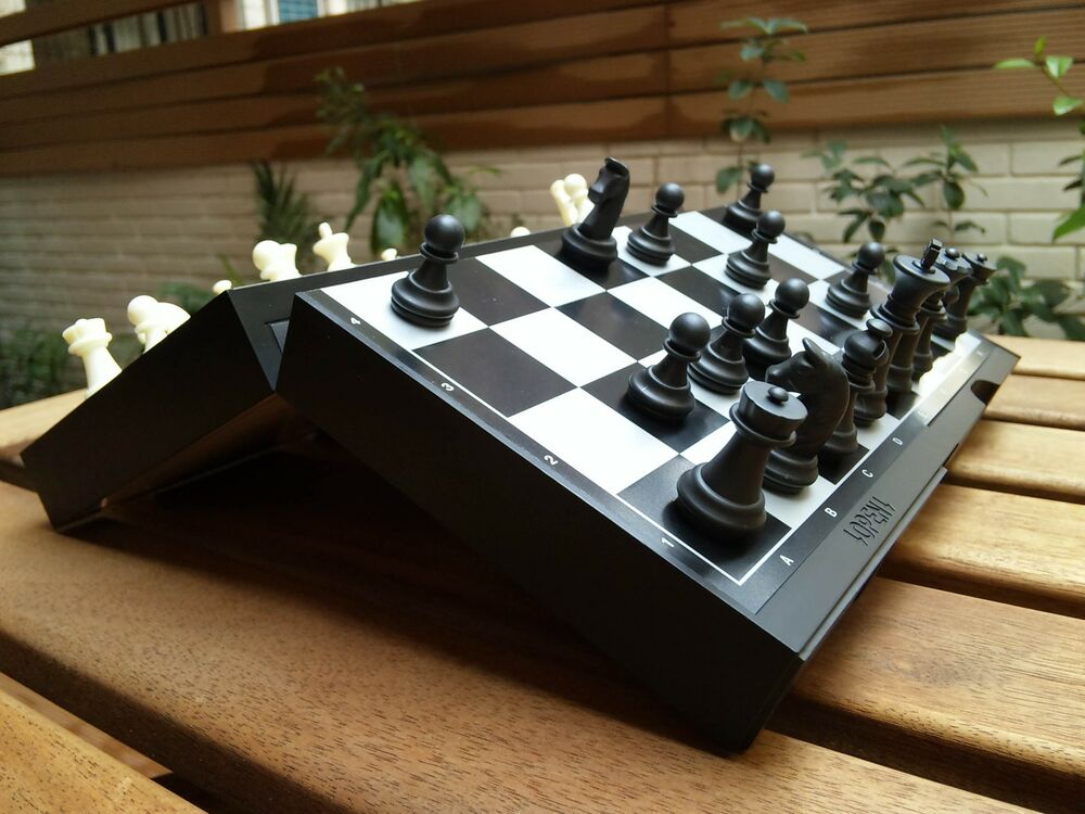 shogi amp chess magnetic pieces 2in1 foldable board ebay