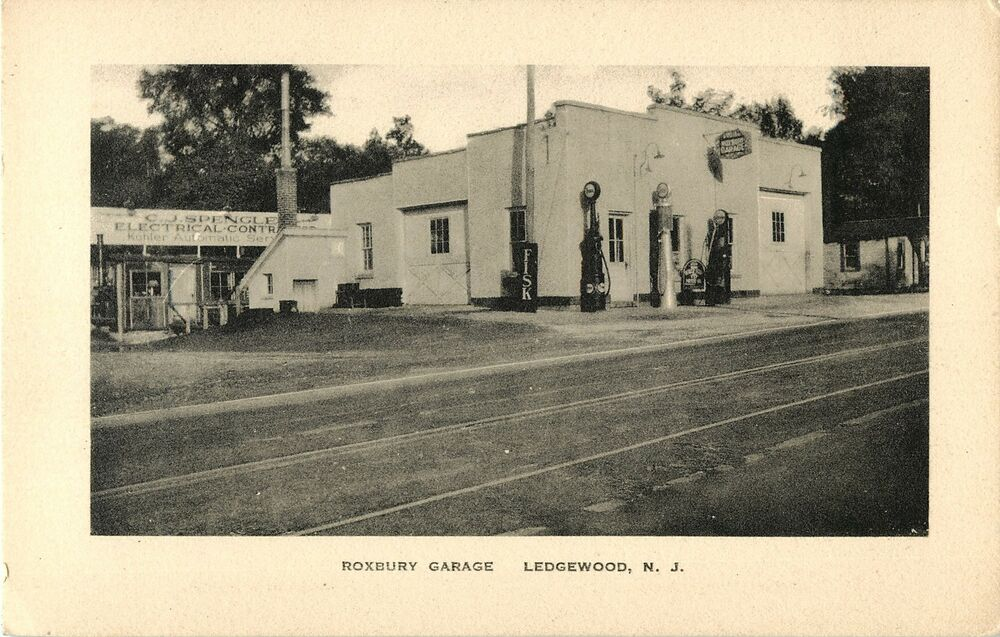 Ledgewood (NJ) United States  City pictures : View of The Roxbury Garage Gas Station Ledgewood NJ | eBay