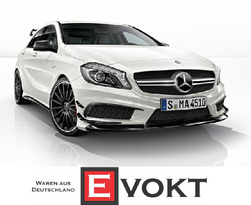 mercedes a class w176 amg a45 side spoiler flaps a45 hub. Black Bedroom Furniture Sets. Home Design Ideas