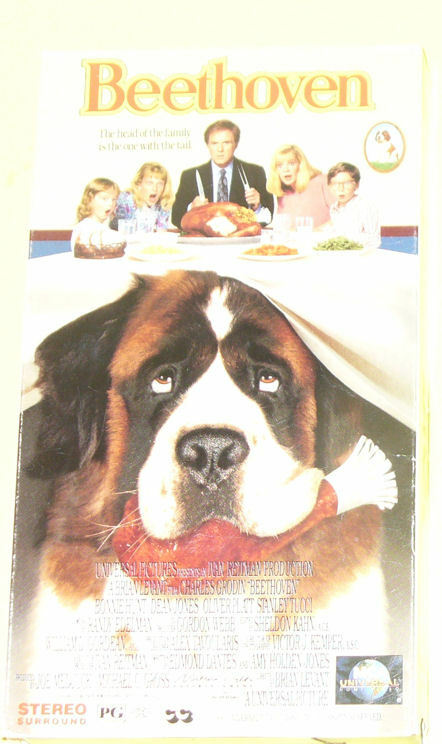 Beethoven - Family Dog Film Used VHS! Nice See! | eBay