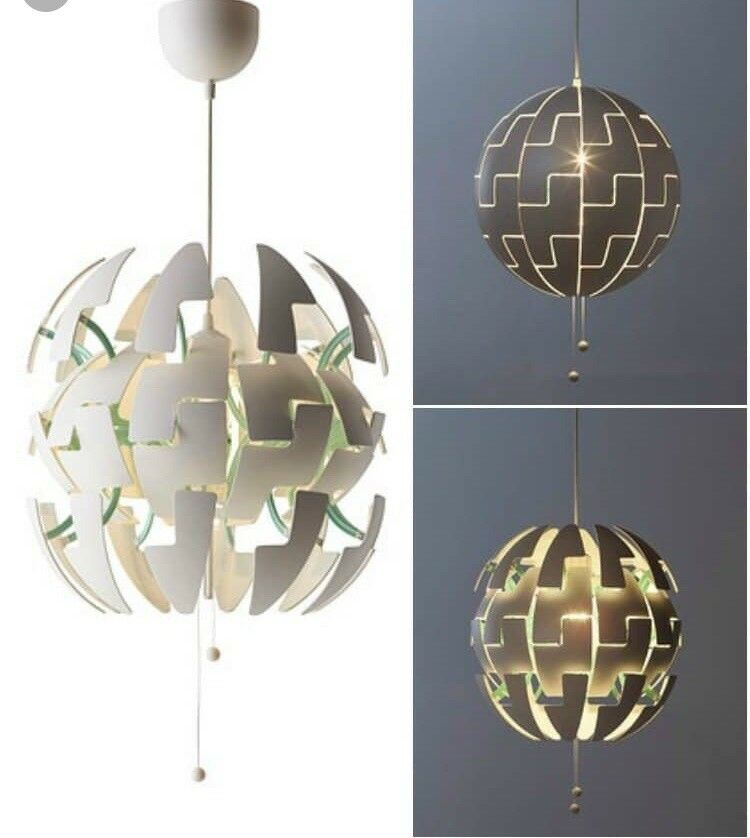Ikea Ps 2014 Pendant Lamp Like The Death Star White Silver: IKEA Ceiling Pendant Lamp Shade Turquoise Orange Lego