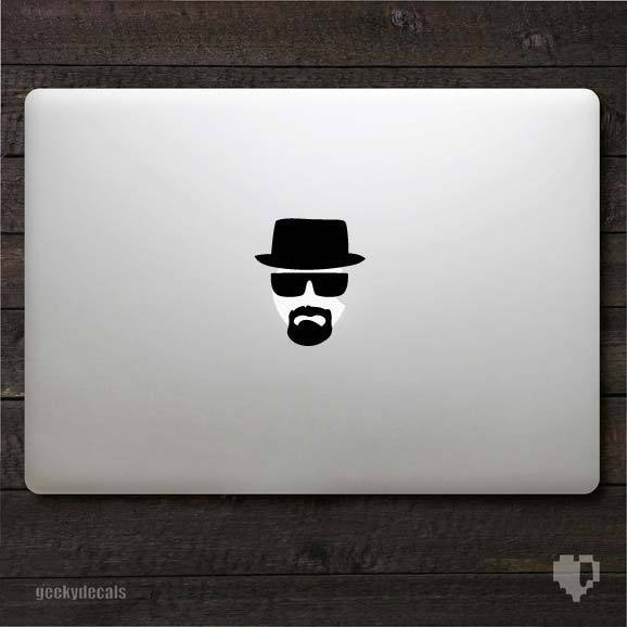 Breaking Bad inspired Heisenberg Macbook Decal / Macbook ...