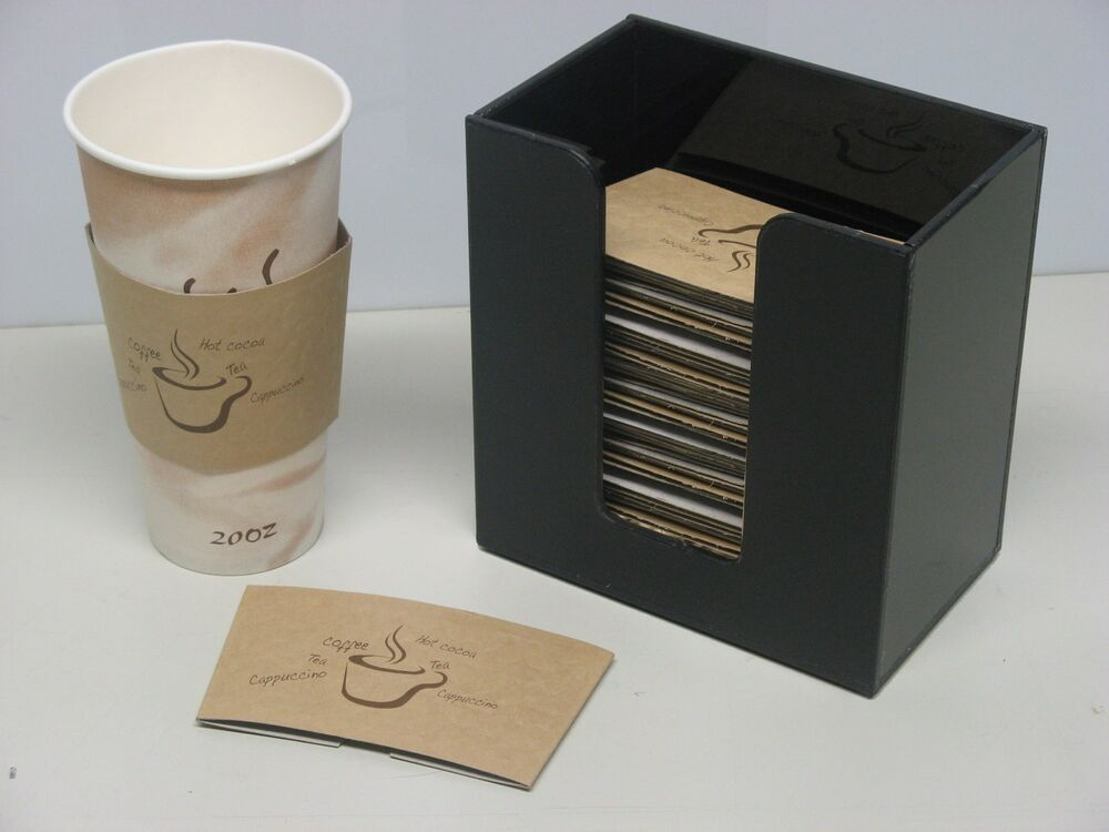 Coffee Cup Sleeve or Hot Cup Holder Short Dispenser  : s l1000 from www.ebay.co.uk size 1000 x 750 jpeg 54kB
