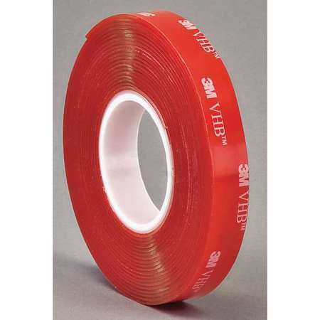 3m preferred converter 4910 double sided vhb tape 1 2inx5 yd clear ebay. Black Bedroom Furniture Sets. Home Design Ideas