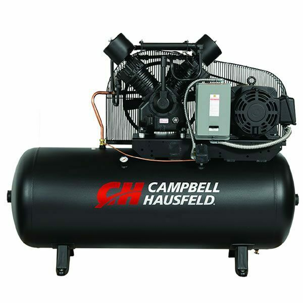 Campbell Hausfeld 15 Hp 120 Gallon Two Stage Air