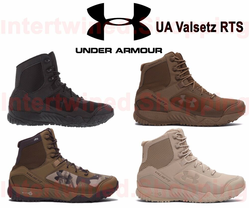Under Armour 1250234 Mens Ua Valsetz Rts Tactical Boots