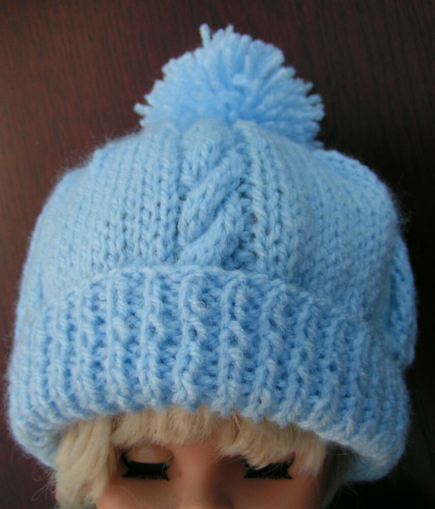 Easy Knitting Patterns For Beginners Baby Hats : Easy to knit baby hat original pattern in DK eBay
