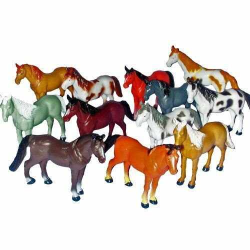 Toy Of Horses : Horse figures quot to plastic new ebay