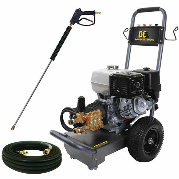BE Professional 4000 PSI (Gas-Cold Water) Pressure Washer w/ Honda Engine | eBay