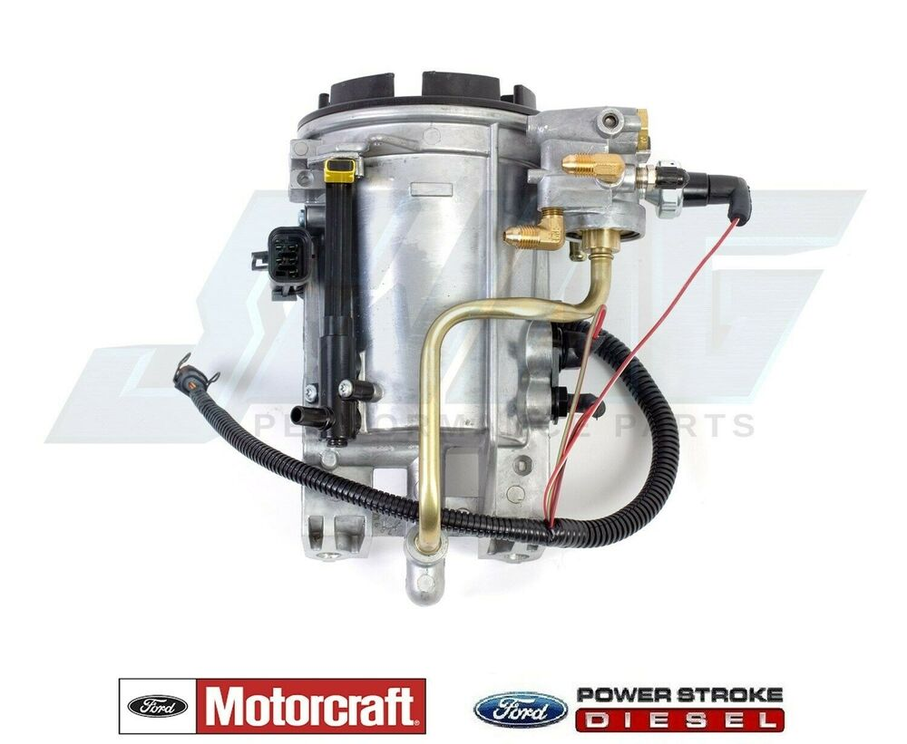 7 3 fuel filter housing 96-97 ford 7.3l powerstroke diesel genuine motorcraft oem ... 7 3l fuel filter housing