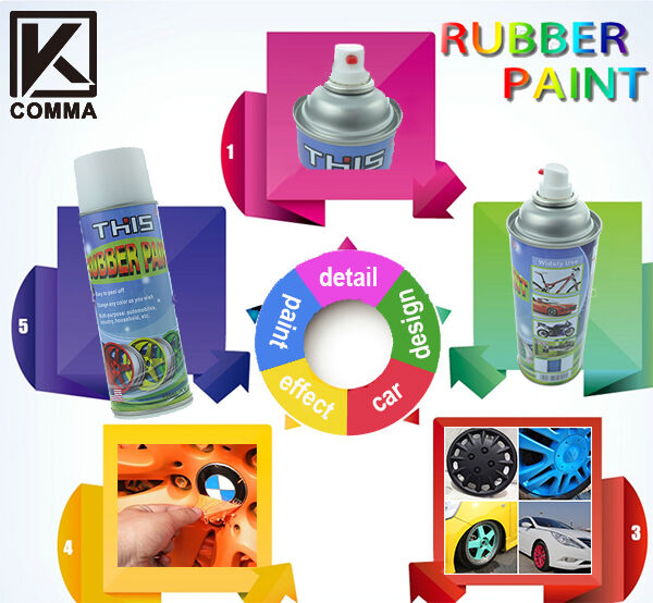flexible rubber spray vinyl aerosol plastic paint 450ml can alloys. Black Bedroom Furniture Sets. Home Design Ideas